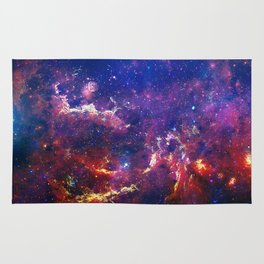 New View of Milky Way Rug