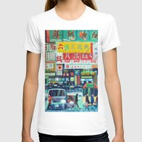 hong kong T-shirts featuring Hong Kong by Corrado Pizzi