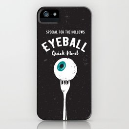 Eyeball Quick Meal iPhone Case