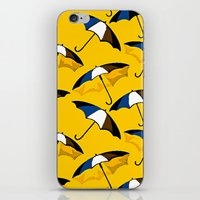 umbrella iPhone & iPod Skins featuring Umbrella  by Saundra Myles