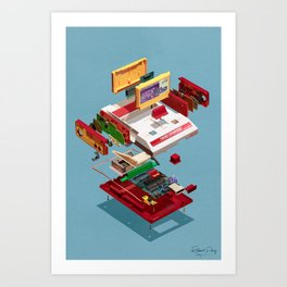 Assembly Required 17 Art Print