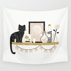 Magical Little Shelf Wall Tapestry