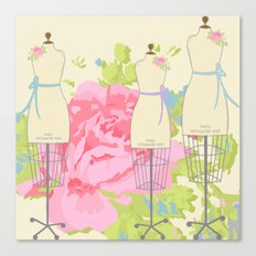 Sewing Room Dress Forms Canvas Print