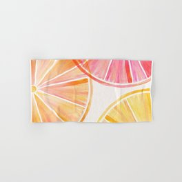 Summer Citrus Party Hand & Bath Towel