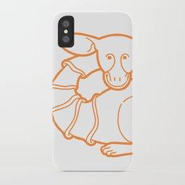 Medieval Cutie iPhone Case