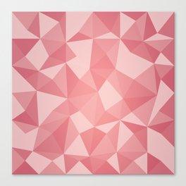 Geometric pyramids V4 Canvas Print