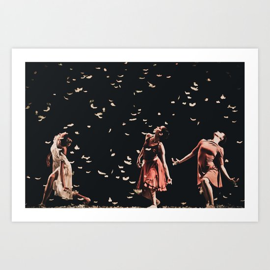 Dancing finale Art Print