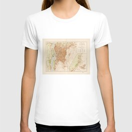 General Map of Cairo, Egypt (1920) T-shirt