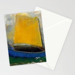 """Odilon Redon """"La Barque Mystique"""" Stationery Cards"""