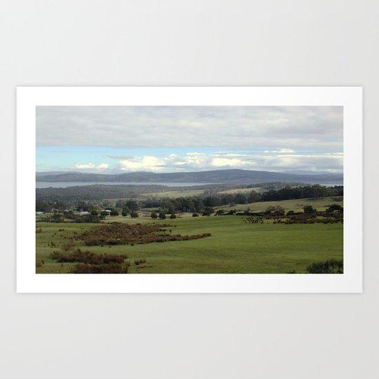 Deep Bay ~ Tasmania Art Print