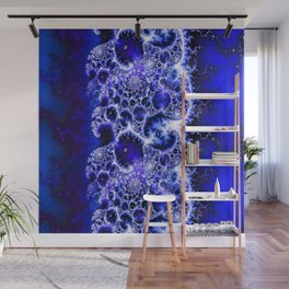 Everywhere at Once (ultramarine) Wall Mural