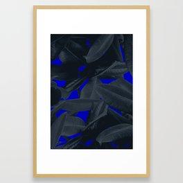 Waste the night Framed Art Print