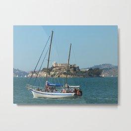 Escape from Alcatraz Metal Print