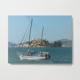 Escape from Alcatraz Metal Print