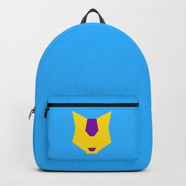 Intersex pride wolf Backpack