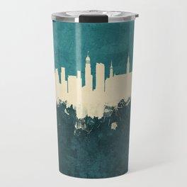 Hamburg Germany Skyline Travel Mug