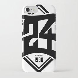 D24 Designs logo iPhone Case