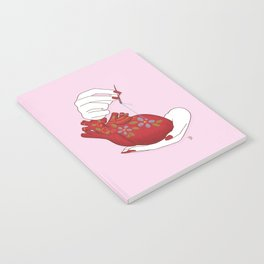 Heart - ( care for your soul ) Notebook