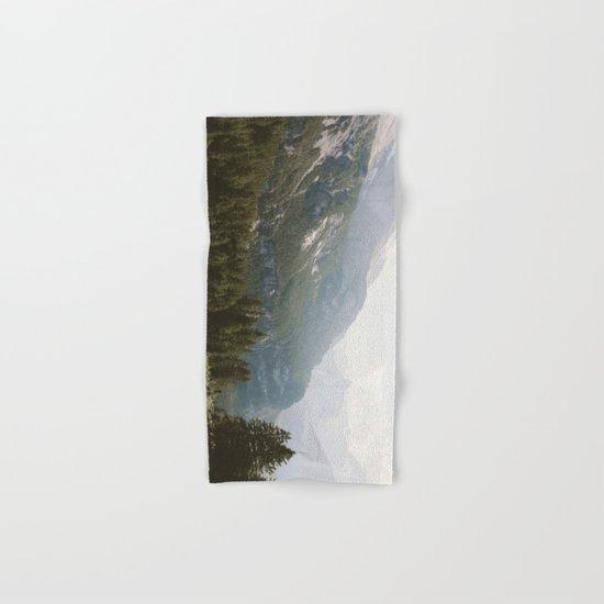 A Switzerland Mountain Valley - Landscape Photography Hand & Bath Towel