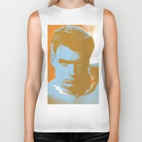 clint barton Biker Tanks featuring clint by zemoamerica