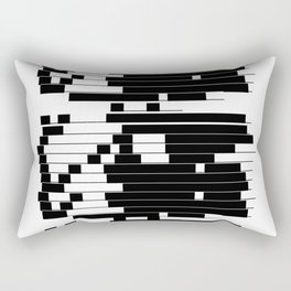 ASCII All Over 06051310 Rectangular Pillow