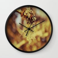 spanish Wall Clocks featuring Spanish moss by  Alexia Miles photography