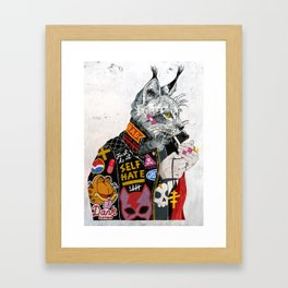 Who You Callin' a Pu$$y? Framed Art Print