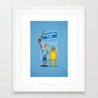 community Framed Art Prints featuring Community Time! by powerpig