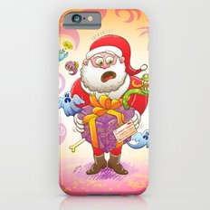A Christmas Gift from Halloween Creepies to Santa iPhone 6s Slim Case
