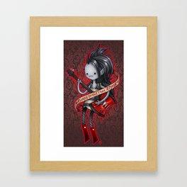 Sorry Im not  made of sugar Framed Art Print