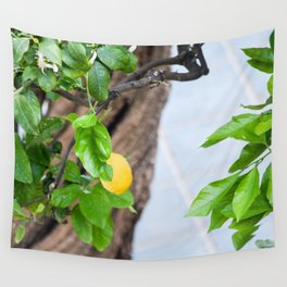 Italian Lemon Tree Wall Tapestry