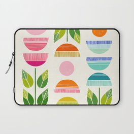 Sugar Blooms - Abstract Retro Inspired Design Laptop Sleeve