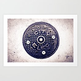 City Electric Art Print