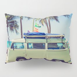 Summer Vacation Road Trip (Beach) Pillow Sham