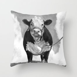 Welcome to the Pasture Throw Pillow