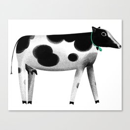 my lovely cow Canvas Print