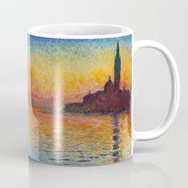 San Giorgio Maggiore by Twilight by Claude Monet Coffee Mug