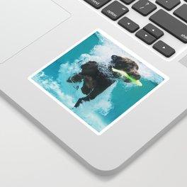 Dog Aquatic Sticker
