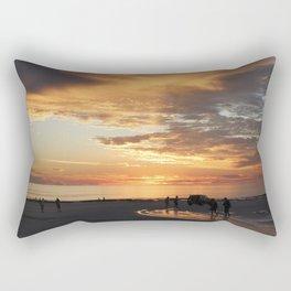 sunset over Broome Rectangular Pillow