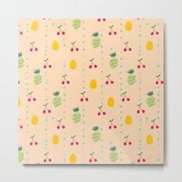 Fruity Spring Metal Print