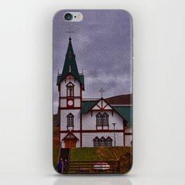 Husavik Church Iceland iPhone Skin