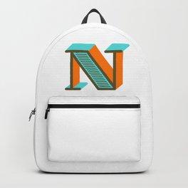Letter N Backpack
