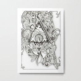 Flying Imagination Metal Print