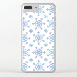 Let it Snow Mix 5 Clear iPhone Case