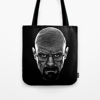 cook Tote Bags featuring The Cook by Azafran