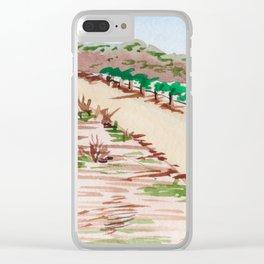 Napa, California Vineyard Clear iPhone Case