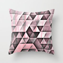 Pink's In Throw Pillow
