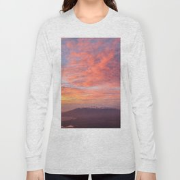 Haleakala Summit Sunset Long Sleeve T-shirt
