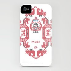 Embroidery  Slim Case iPhone (4, 4s)