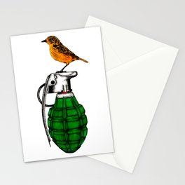 Perch of the world Stationery Cards